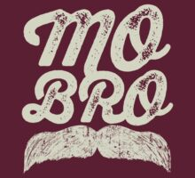 MOVEMBER - Mo Bro White by gazbar