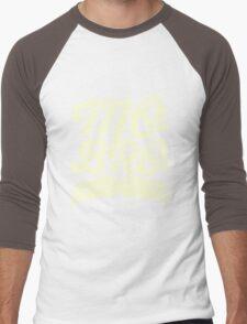 MOVEMBER - Mo Bro White Men's Baseball ¾ T-Shirt