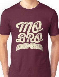 MOVEMBER - Mo Bro White Unisex T-Shirt