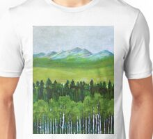 The abstract in Nature, acrylic on canvas Unisex T-Shirt