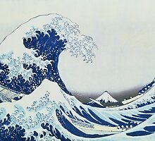 The Great Wave of Kanagawa by Bridgeman Art Library