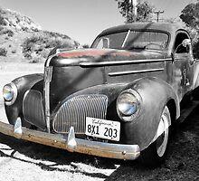1939 Studebaker Coupe Truck by Glenn McCarthy