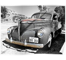 1939 Studebaker Coupe Truck Poster