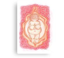 Goddess of Willendorf Canvas Print