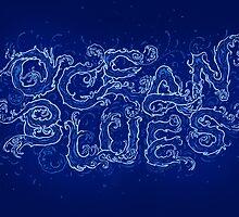 Ocean Blues by Pez &  Pencil