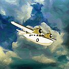 Grumman Goose the Flying Yacht iPad, iPhone/iPod cases by Dennis Melling