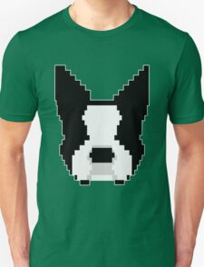 8-Bit Boston Terrier Unisex T-Shirt