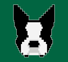 8-Bit Boston Terrier Unisex T-Shirt