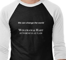 Wolfram & Hart (Angel) Men's Baseball ¾ T-Shirt