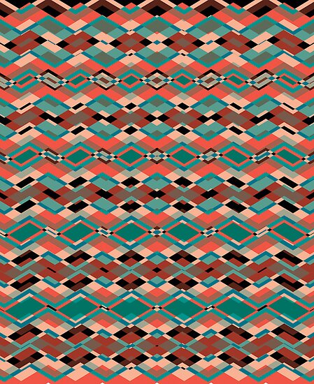 Cool Aztec Pattern by silvianeto