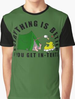 Get In-Tents. Graphic T-Shirt