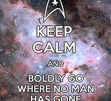 Keep Calm and Star Trek I by GabrielaBeltram