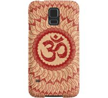 om mandala (liáliom) Samsung Galaxy Case/Skin