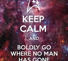 Keep Calm and Star Trek II by GabrielaBeltram