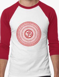 om mandala (liáliom) Men's Baseball ¾ T-Shirt