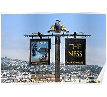 The Ness Pub At Shelden, Devon uk Poster