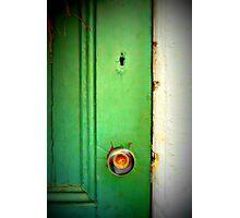 Alice's keyhole Photographic Print
