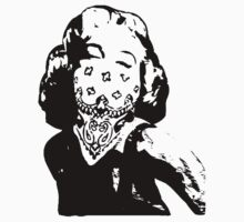 Marilyn Monroe Gangster by GeekLab