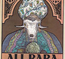 Goat by Kyramatustik
