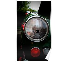 Austin Healey in Green Poster