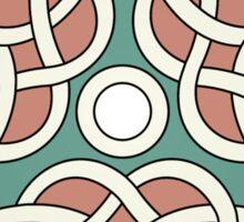 Triple Heart Celtic Knot Sticker