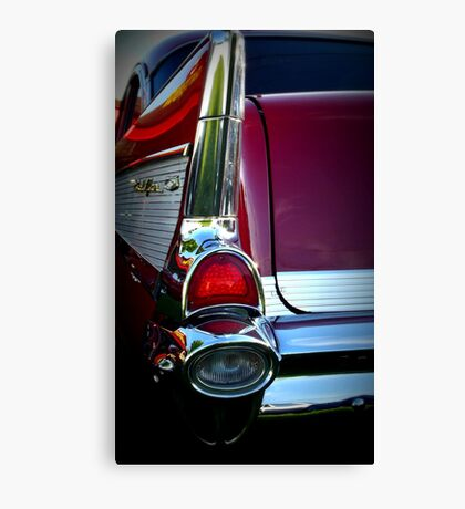 Belair in Red Canvas Print