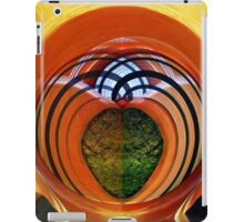 Classic panel truck as an abstract image iPad Case/Skin