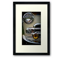 Buick Business Coupe in Cream Framed Print