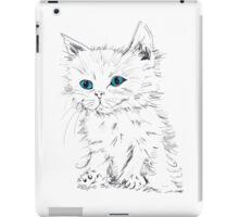 Green Eyed Kitten iPad Case/Skin