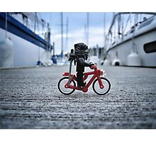 Training: bicycle Photographic Print