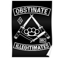 Obstinate Illegitimates Poster