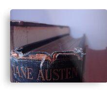 Jane Austen Metal Print