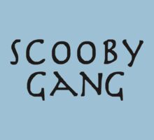 Scooby Gang (Buffy) Baby Tee