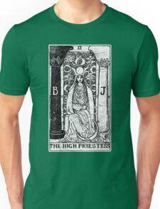 The High Priestess Tarot Card - Major Arcana - fortune telling - occult Unisex T-Shirt