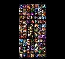 League of Legends by Mytholxgy