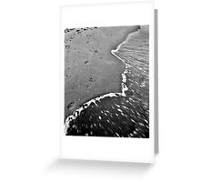 Footprints Greeting Card