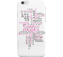 ICH NSN: Typography iPhone Case/Skin