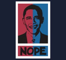 NOPE! No Hope for Obama Kids Tee