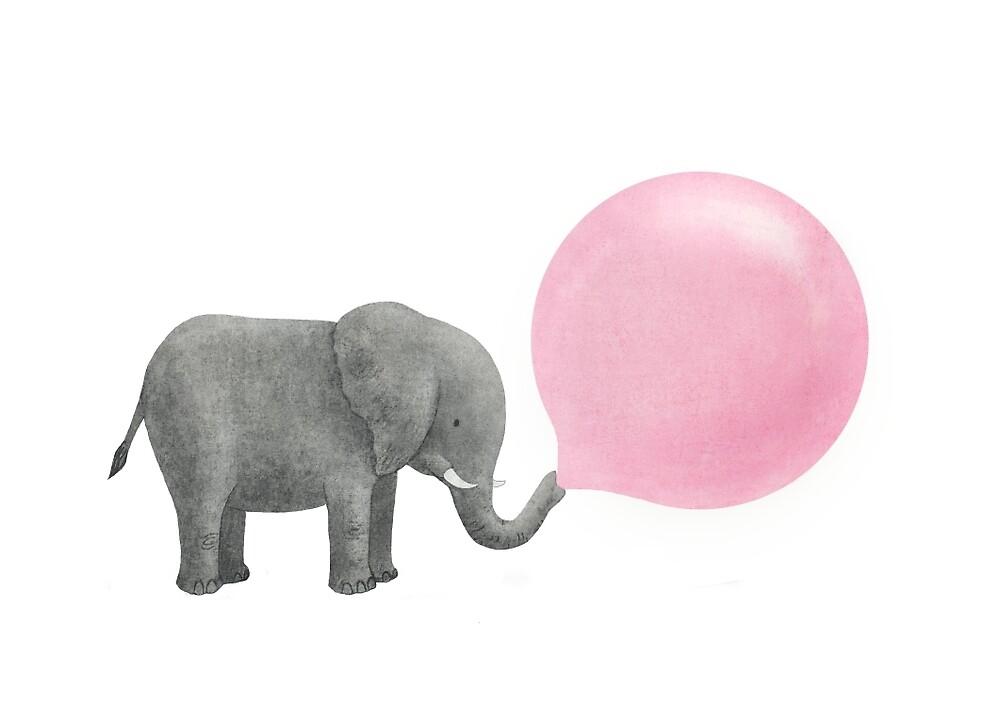 Jumbo Bubble Gum  by Terry  Fan