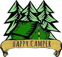 Happy Camper. by TASHARTS