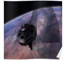 UFO IN THE SKY Poster