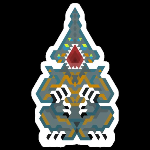 Pacific Rim Kaiju - Knifehead  by Joshua  Smyth