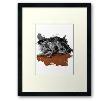 A Warrior's Tear Framed Print