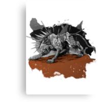 A Warrior's Tear Canvas Print