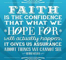 Hebrews 11:1 Verse by Jeri Stunkard
