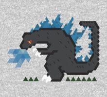 Godzilla by Joshua  Smyth