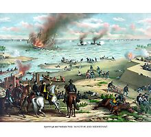 Battle Between The Monitor And Merrimac by warishellstore