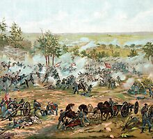 Battle Of Gettysburg -- American Civil War by warishellstore