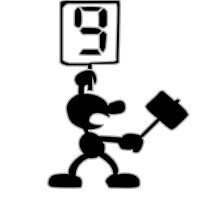 Game and Watch 9 Hammer by chrispocetti