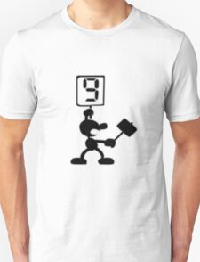 Game and Watch 9 Hammer T-Shirt